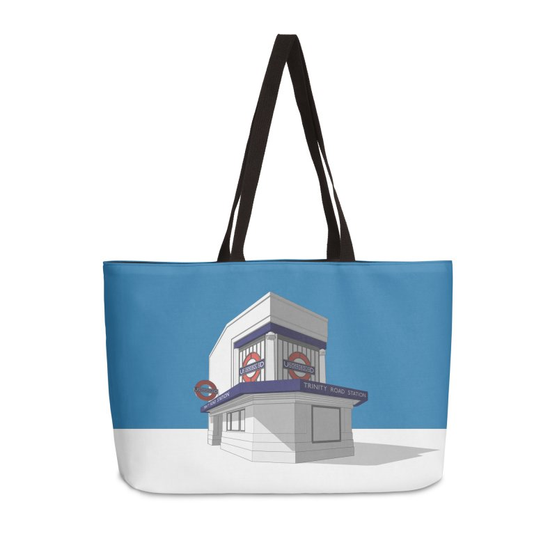 Trinity Road (Tooting Bec) Accessories Bag by Pig's Ear Gear on Threadless