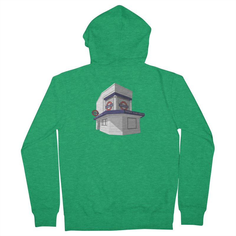 Trinity Road (Tooting Bec) Women's Zip-Up Hoody by Pig's Ear Gear on Threadless
