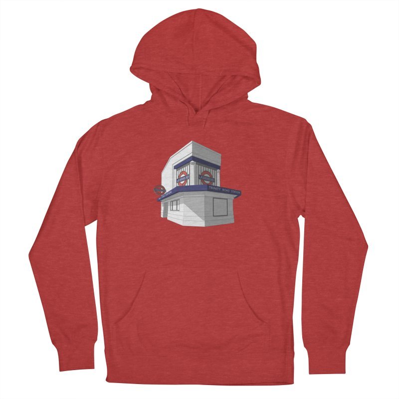 Trinity Road (Tooting Bec) Women's French Terry Pullover Hoody by Pig's Ear Gear on Threadless