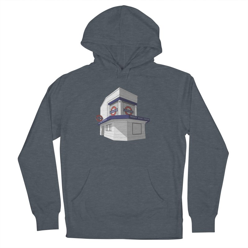 Trinity Road (Tooting Bec) Men's French Terry Pullover Hoody by Pig's Ear Gear on Threadless