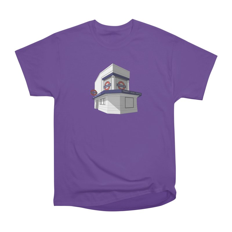 Trinity Road (Tooting Bec) Women's Heavyweight Unisex T-Shirt by Pig's Ear Gear on Threadless