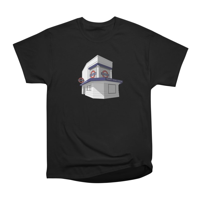 Trinity Road (Tooting Bec) Men's Heavyweight T-Shirt by Pig's Ear Gear on Threadless