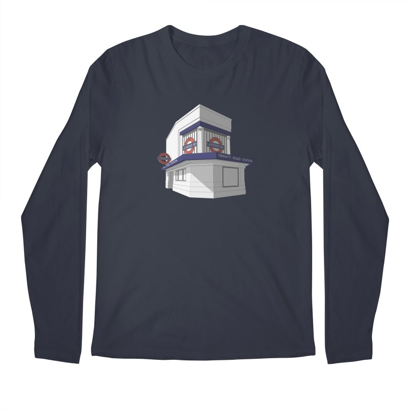 Trinity Road (Tooting Bec) Men's Longsleeve T-Shirt by Pig's Ear Gear on Threadless