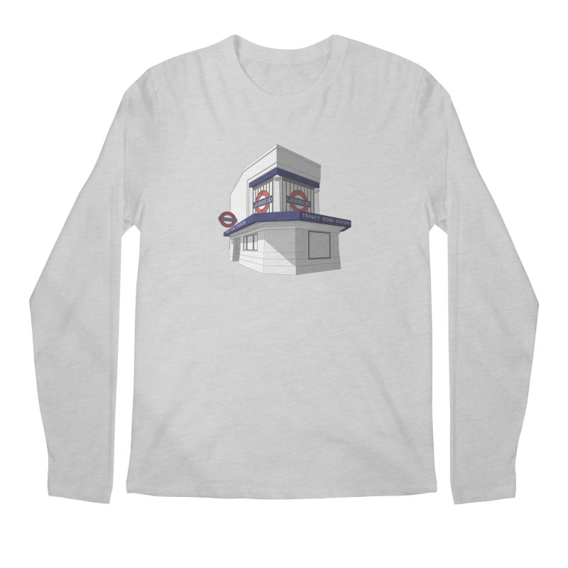 Trinity Road (Tooting Bec) Men's Regular Longsleeve T-Shirt by Pig's Ear Gear on Threadless