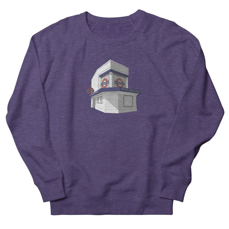 Trinity Road (Tooting Bec) Women's French Terry Sweatshirt by Pig's Ear Gear on Threadless