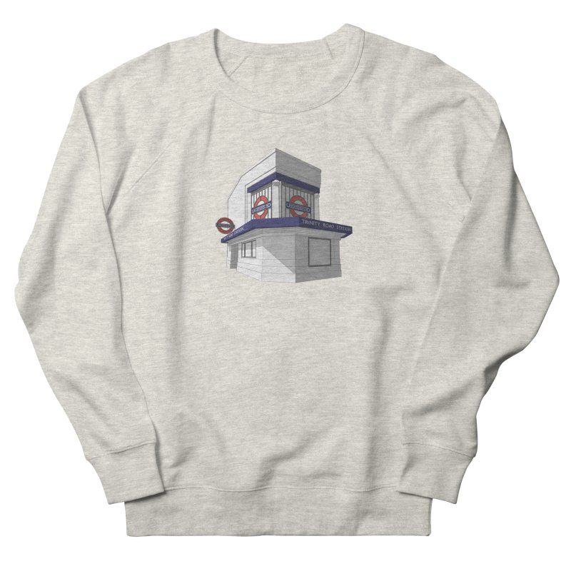 Trinity Road (Tooting Bec) Men's French Terry Sweatshirt by Pig's Ear Gear on Threadless