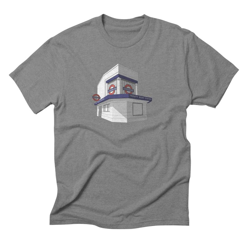 Trinity Road (Tooting Bec) Men's Triblend T-Shirt by Pig's Ear Gear on Threadless