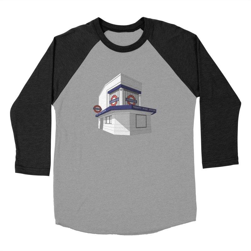 Trinity Road (Tooting Bec) Men's Baseball Triblend Longsleeve T-Shirt by Pig's Ear Gear on Threadless