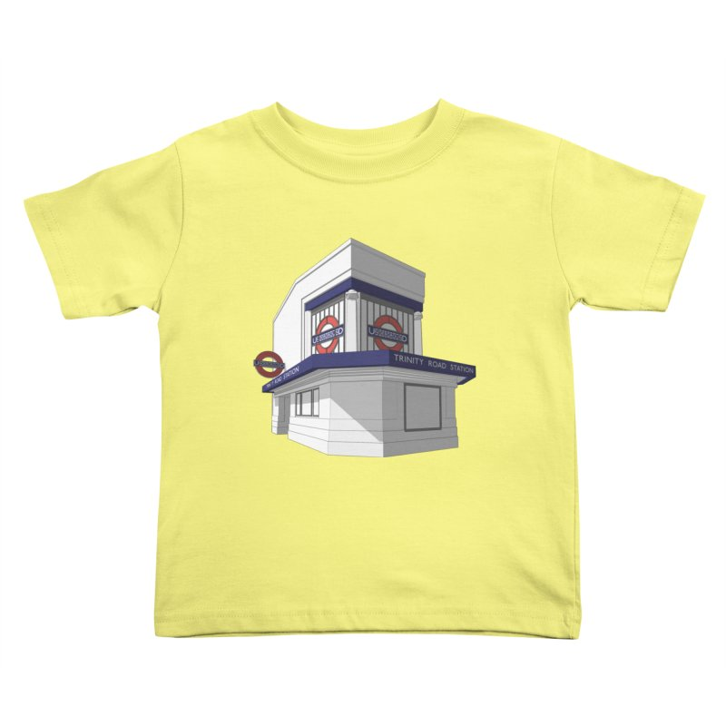Trinity Road (Tooting Bec) Kids Toddler T-Shirt by Pig's Ear Gear on Threadless