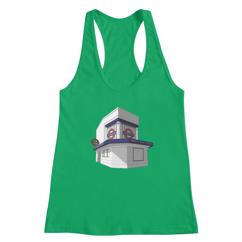 Trinity Road (Tooting Bec) Women's Tank by Pig's Ear Gear on Threadless