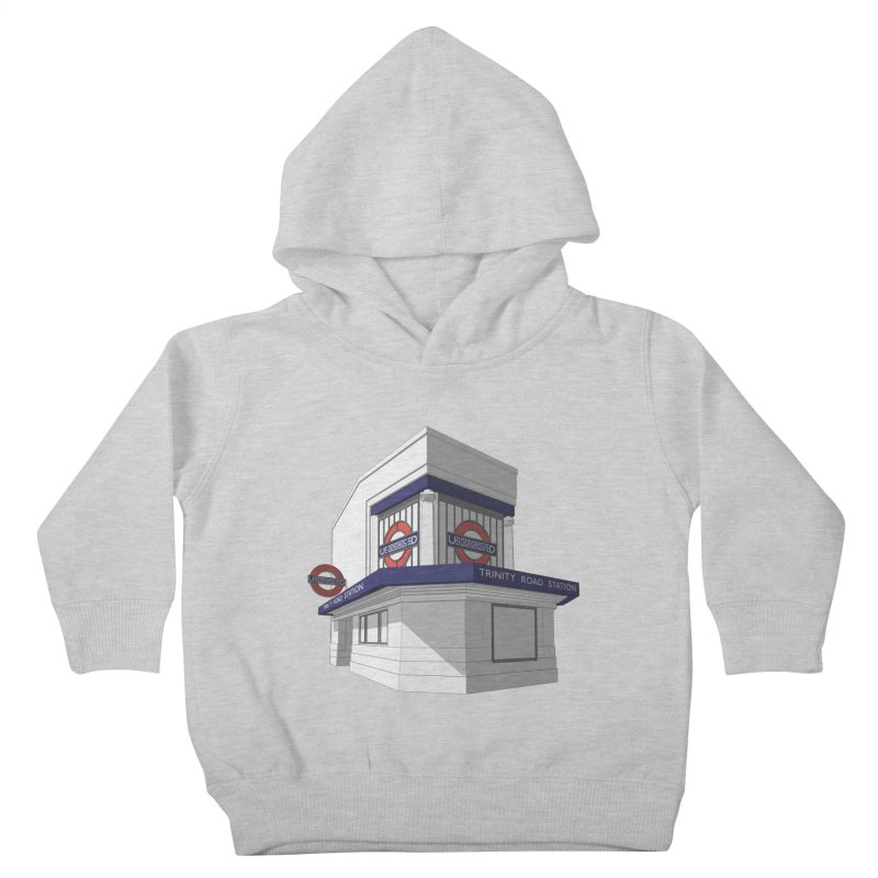 Trinity Road (Tooting Bec) Kids Toddler Pullover Hoody by Pig's Ear Gear on Threadless
