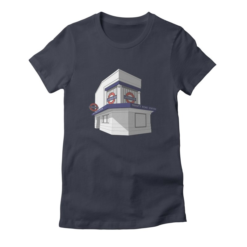 Trinity Road (Tooting Bec) Women's T-Shirt by Pig's Ear Gear on Threadless
