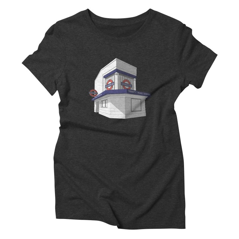 Trinity Road (Tooting Bec) Women's Triblend T-Shirt by Pig's Ear Gear on Threadless
