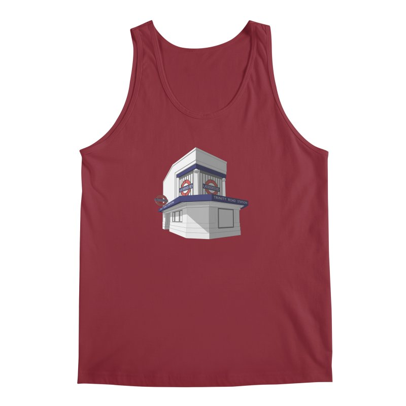 Trinity Road (Tooting Bec) Men's Regular Tank by Pig's Ear Gear on Threadless