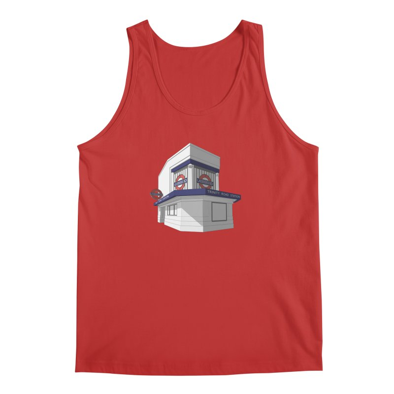 Trinity Road (Tooting Bec) Men's Tank by Pig's Ear Gear on Threadless