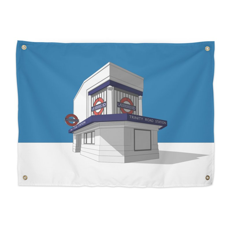 Trinity Road (Tooting Bec) Home Tapestry by Pig's Ear Gear on Threadless