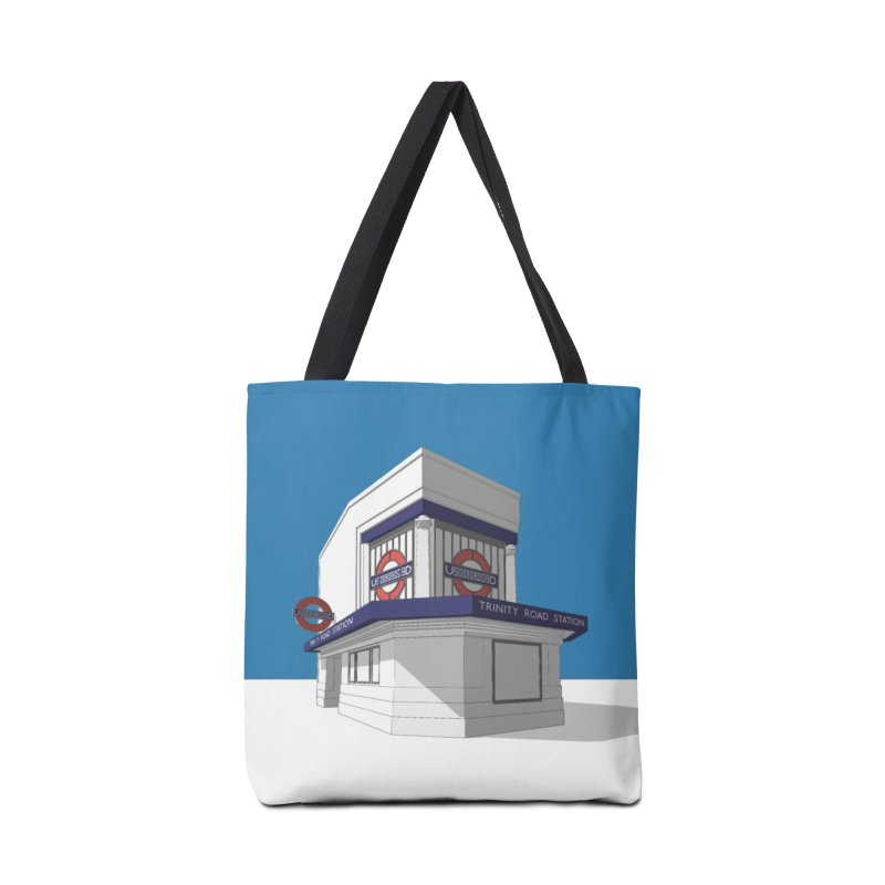 Trinity Road (Tooting Bec) Accessories Tote Bag Bag by Pig's Ear Gear on Threadless