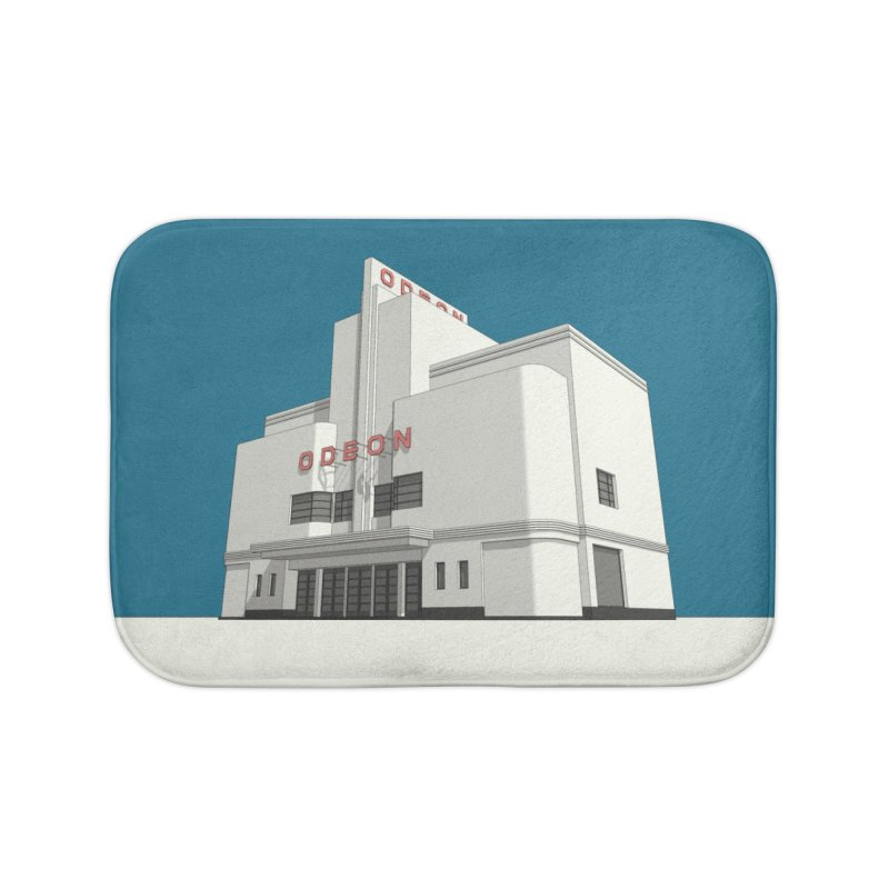ODEON Balham Home Bath Mat by Pig's Ear Gear on Threadless