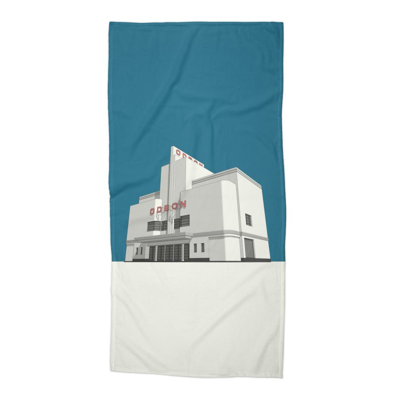 ODEON Balham Accessories Beach Towel by Pig's Ear Gear on Threadless