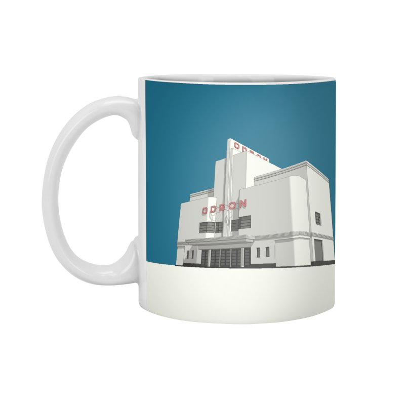 ODEON Balham Accessories Mug by Pig's Ear Gear on Threadless