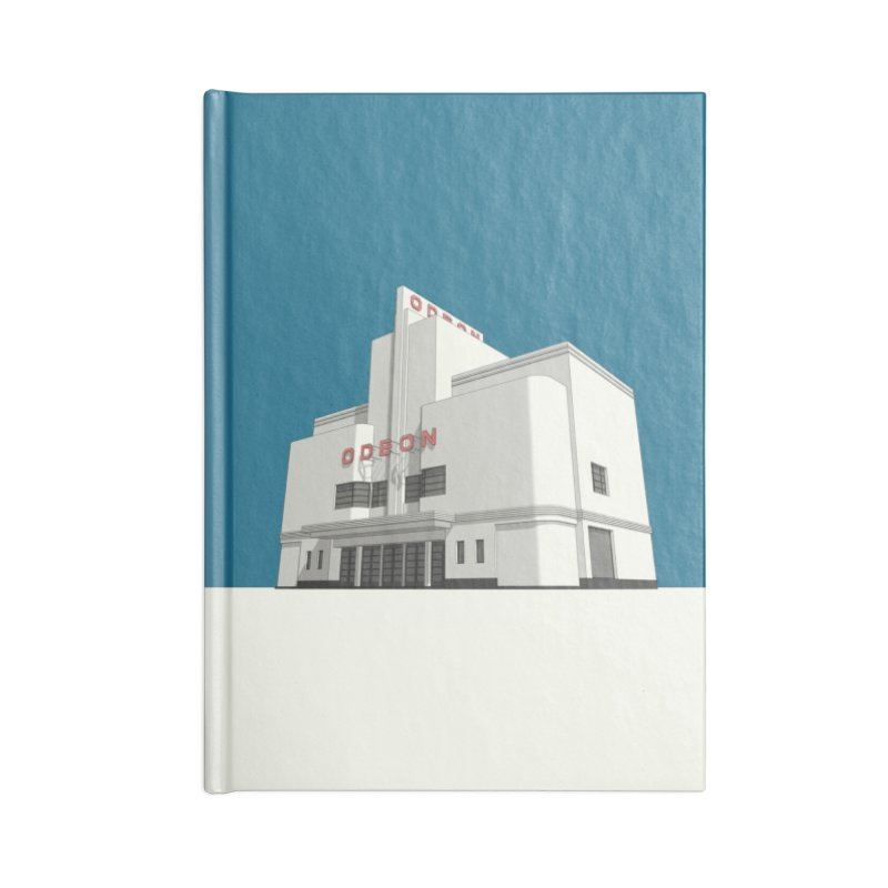 ODEON Balham Accessories Blank Journal Notebook by Pig's Ear Gear on Threadless