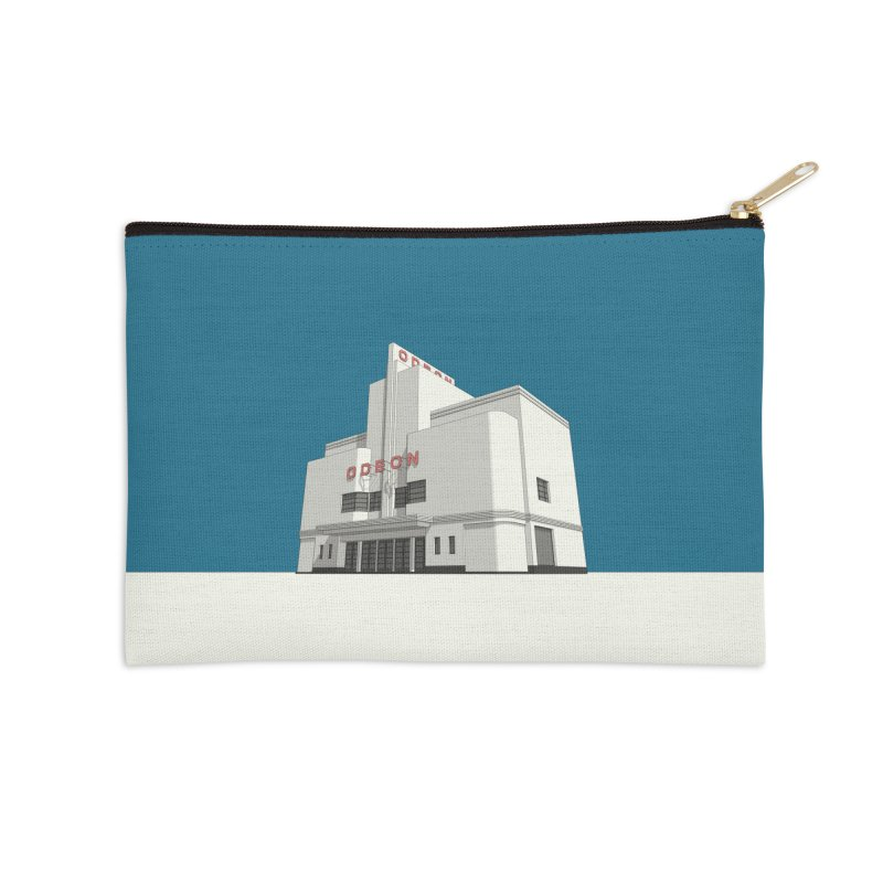 ODEON Balham Accessories Zip Pouch by Pig's Ear Gear on Threadless