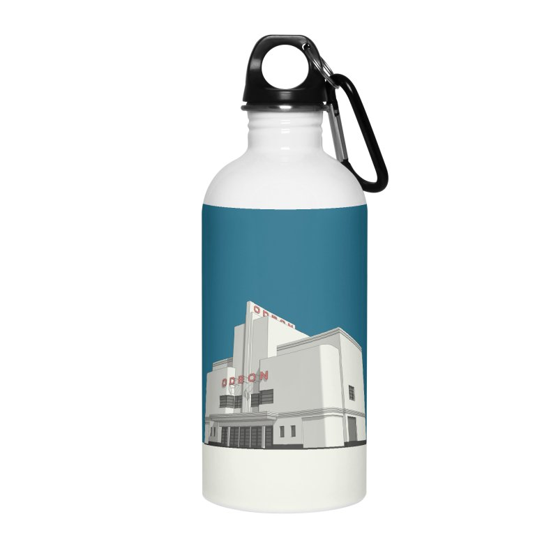 ODEON Balham Accessories Water Bottle by Pig's Ear Gear on Threadless