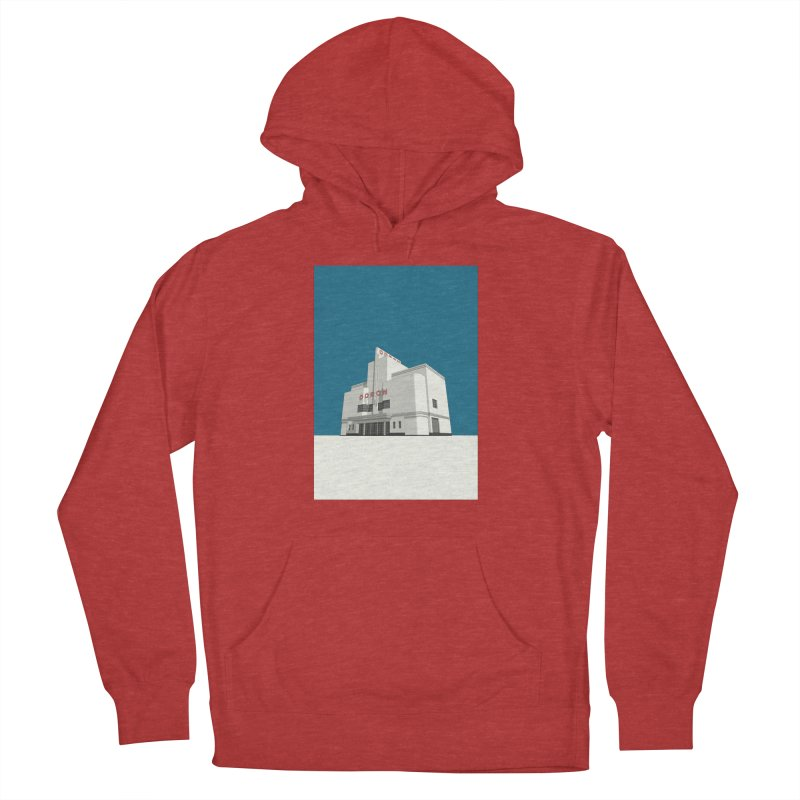 ODEON Balham Women's French Terry Pullover Hoody by Pig's Ear Gear on Threadless