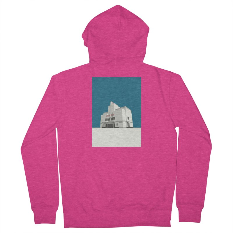 ODEON Balham Women's French Terry Zip-Up Hoody by Pig's Ear Gear on Threadless