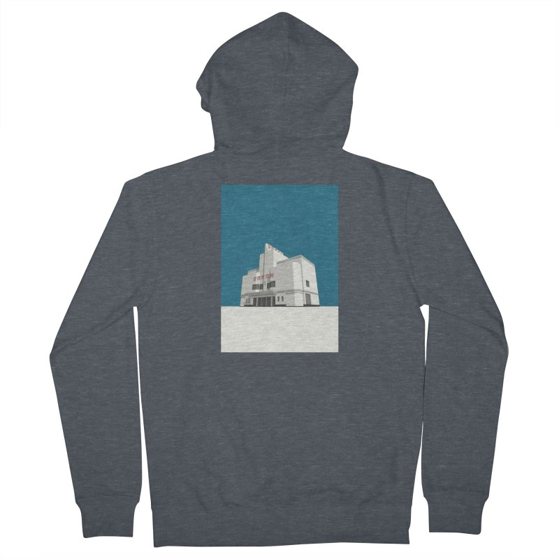 ODEON Balham Men's French Terry Zip-Up Hoody by Pig's Ear Gear on Threadless