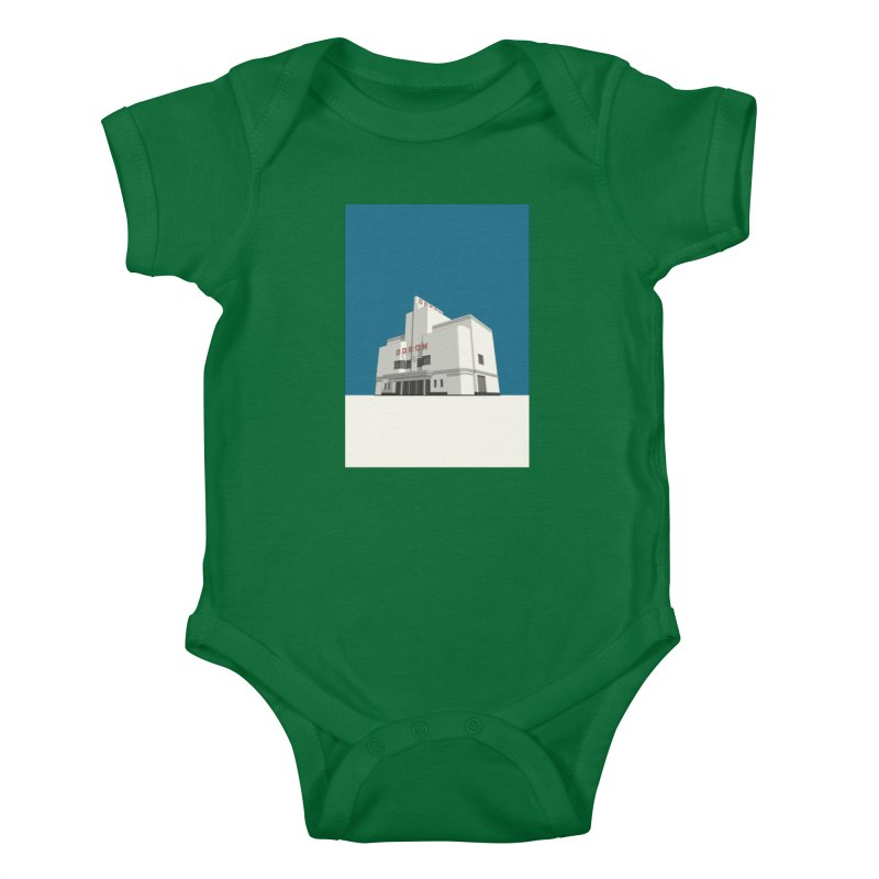 ODEON Balham Kids Baby Bodysuit by Pig's Ear Gear on Threadless