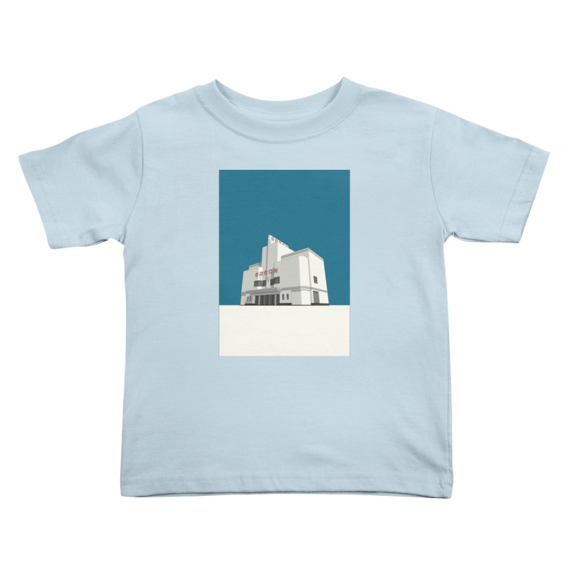 ODEON Balham Kids Toddler T-Shirt by Pig's Ear Gear on Threadless