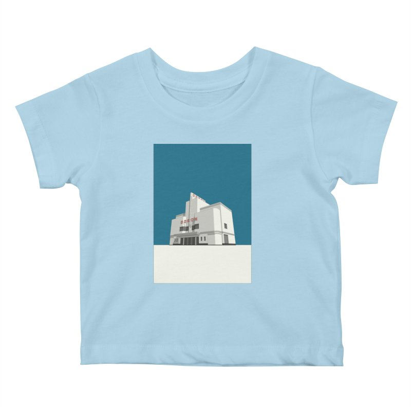ODEON Balham Kids Baby T-Shirt by Pig's Ear Gear on Threadless