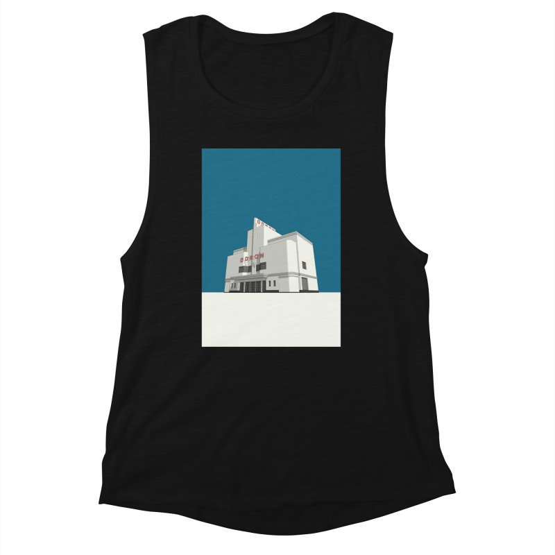 ODEON Balham Women's Muscle Tank by Pig's Ear Gear on Threadless