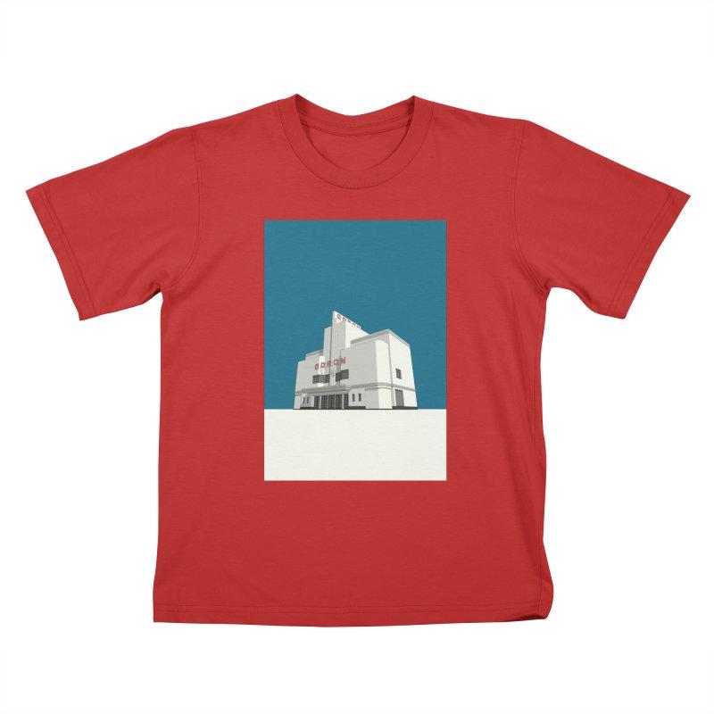 ODEON Balham Kids T-Shirt by Pig's Ear Gear on Threadless