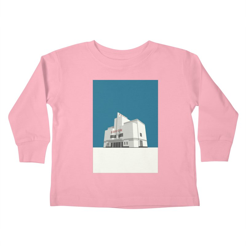 ODEON Balham Kids Toddler Longsleeve T-Shirt by Pig's Ear Gear on Threadless