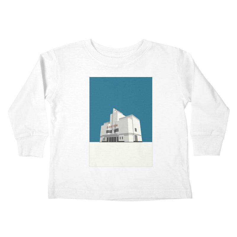 ODEON Balham Kids Toddler Longsleeve T-Shirt by Pig's Ear Gear on Threadless