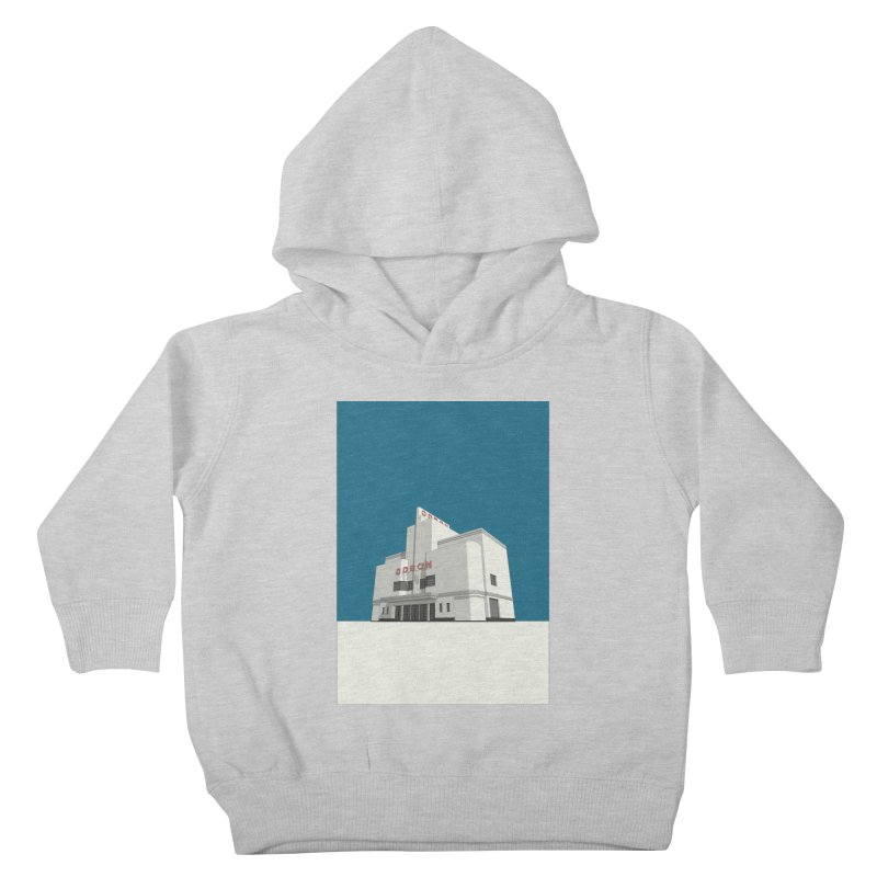 ODEON Balham Kids Toddler Pullover Hoody by Pig's Ear Gear on Threadless