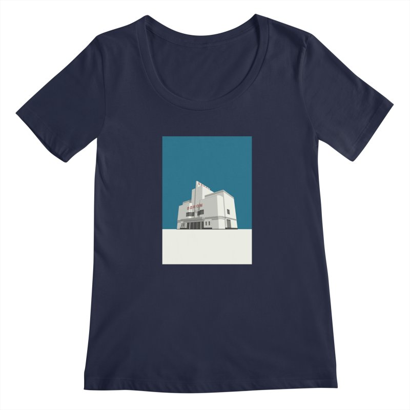 ODEON Balham Women's Regular Scoop Neck by Pig's Ear Gear on Threadless