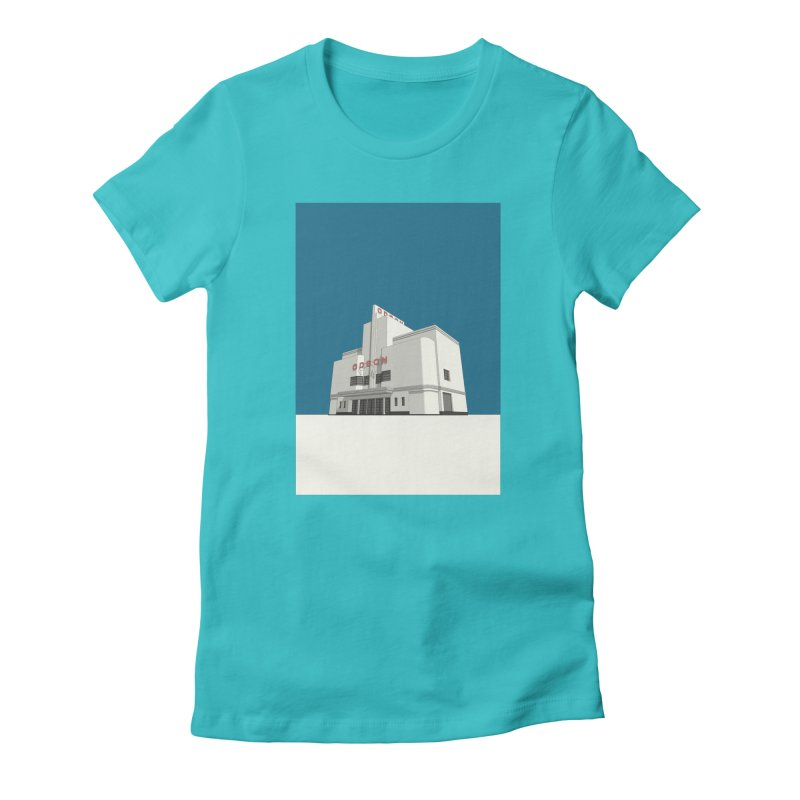 ODEON Balham Women's Fitted T-Shirt by Pig's Ear Gear on Threadless
