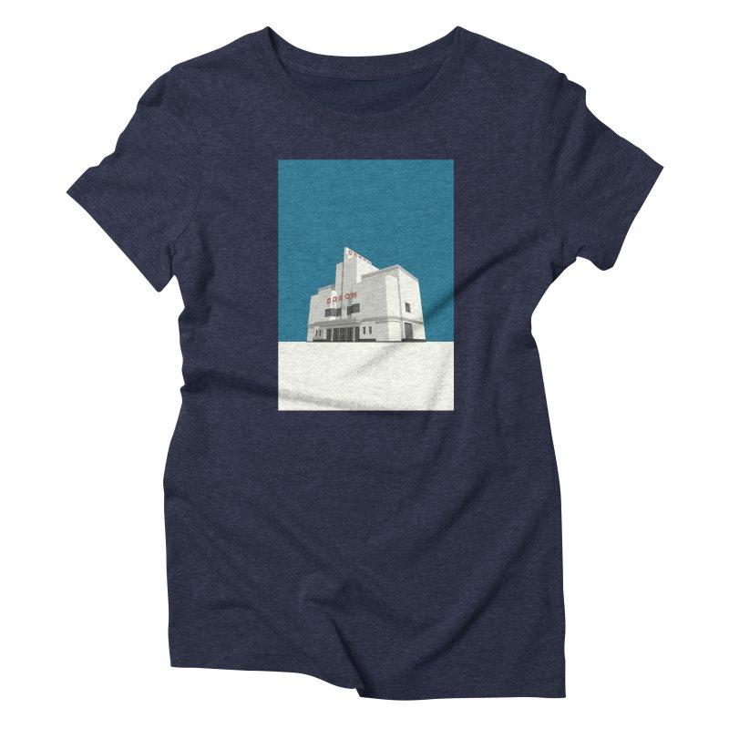ODEON Balham Women's Triblend T-Shirt by Pig's Ear Gear on Threadless