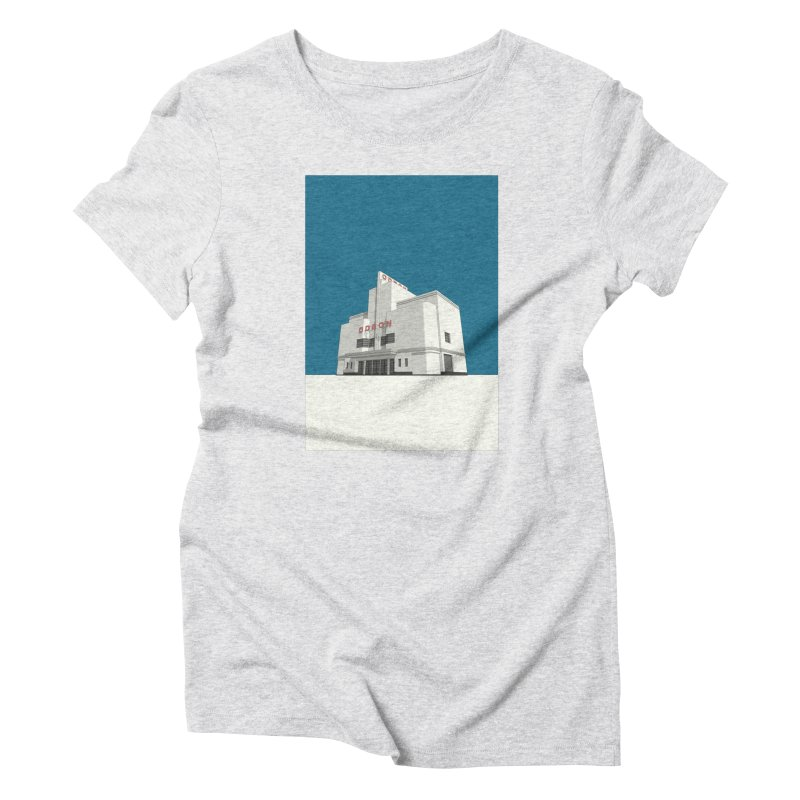 ODEON Balham Women's Triblend T-Shirt by Pig's Ear Gear on Threadless