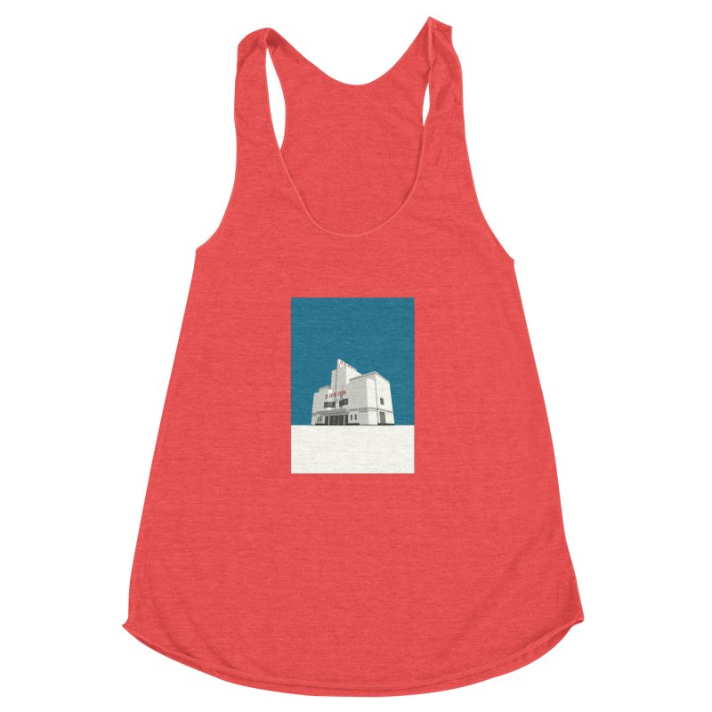 ODEON Balham Women's Racerback Triblend Tank by Pig's Ear Gear on Threadless