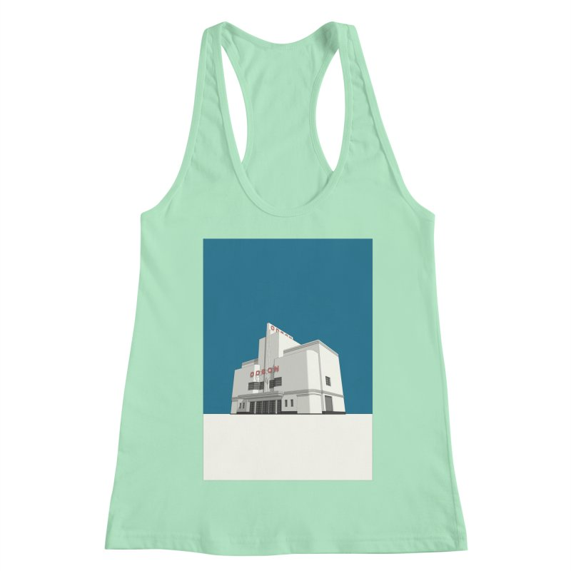 ODEON Balham Women's Racerback Tank by Pig's Ear Gear on Threadless
