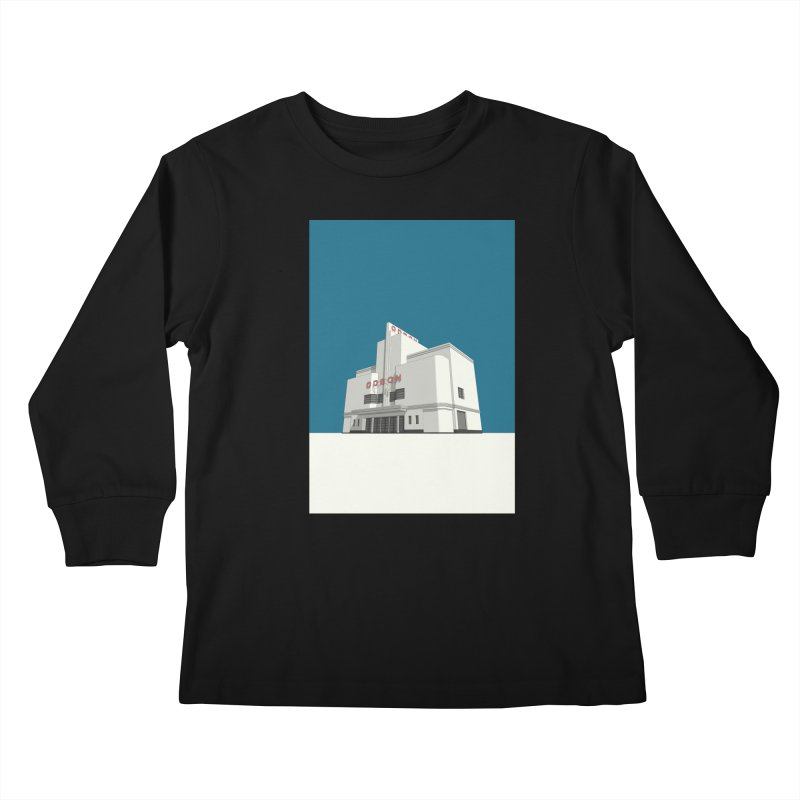 ODEON Balham Kids Longsleeve T-Shirt by Pig's Ear Gear on Threadless