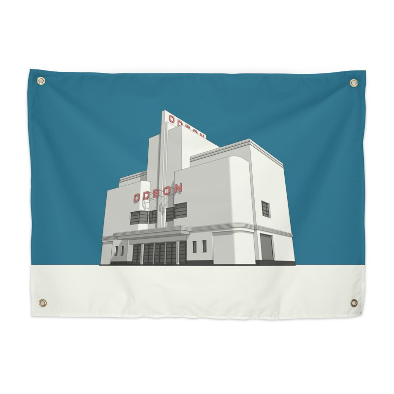 ODEON Balham Home Tapestry by Pig's Ear Gear on Threadless