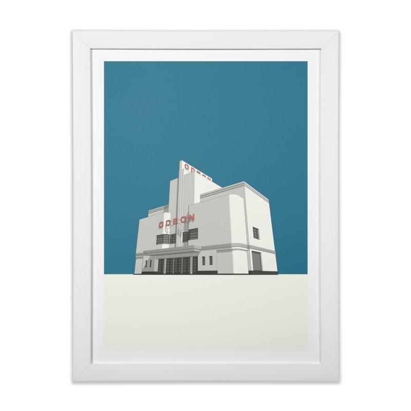 ODEON Balham Home Framed Fine Art Print by Pig's Ear Gear on Threadless