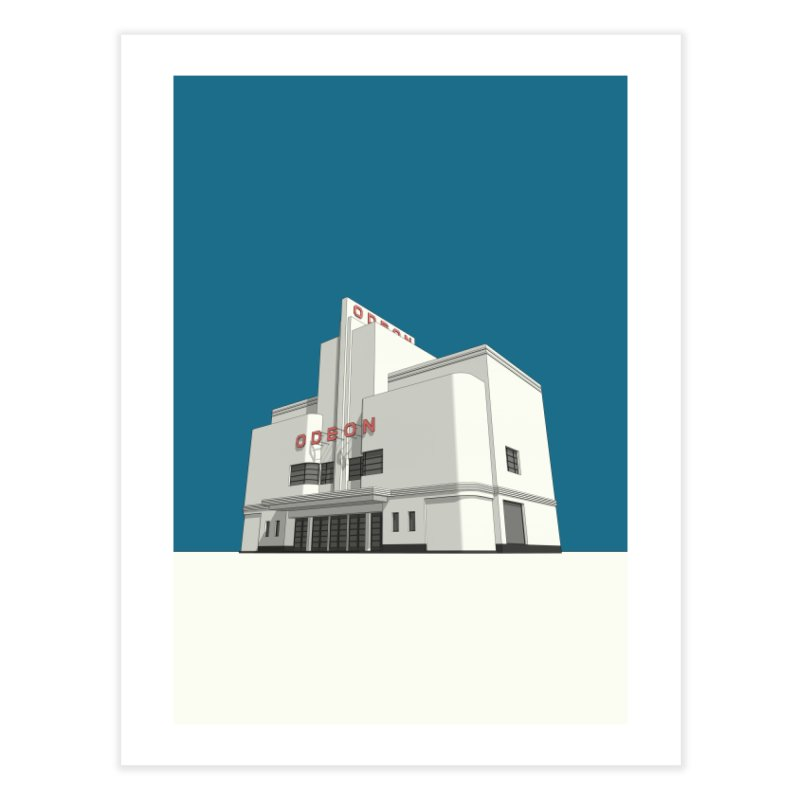 ODEON Balham Home Fine Art Print by Pig's Ear Gear on Threadless