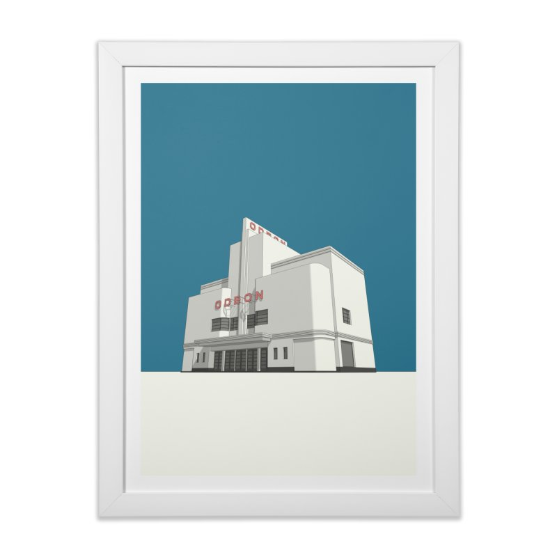 ODEON Balham Home Framed Fine Art Print by Pig's Ear Gear on Threadless