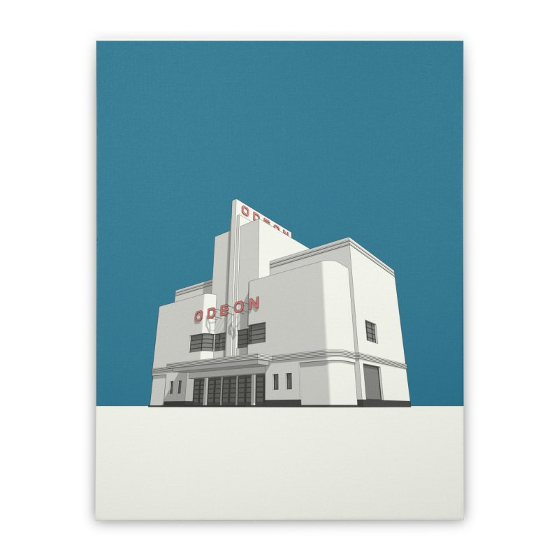 ODEON Balham Home Stretched Canvas by Pig's Ear Gear on Threadless